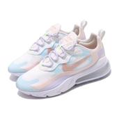 Nike 休閒鞋 Wmns Air Max 270 React 藍 粉紅 紫 馬卡龍 女鞋 運動鞋 【PUMP306】 CQ4805-146