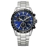 CITIZEN星辰 萬年曆光動能時尚腕錶(BL5496-96L)