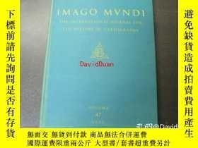 二手書博民逛書店Imago罕見Mundi: The International Journal for the History o