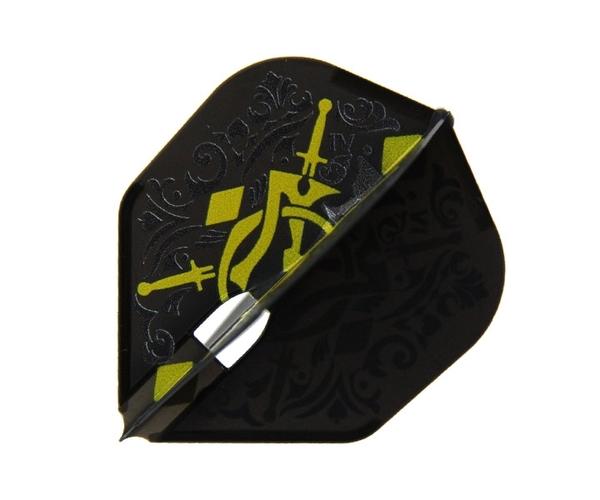 【L-Flight】PRO MASUMI 知野真澄 Model Shape Black 鏢翼 DARTS