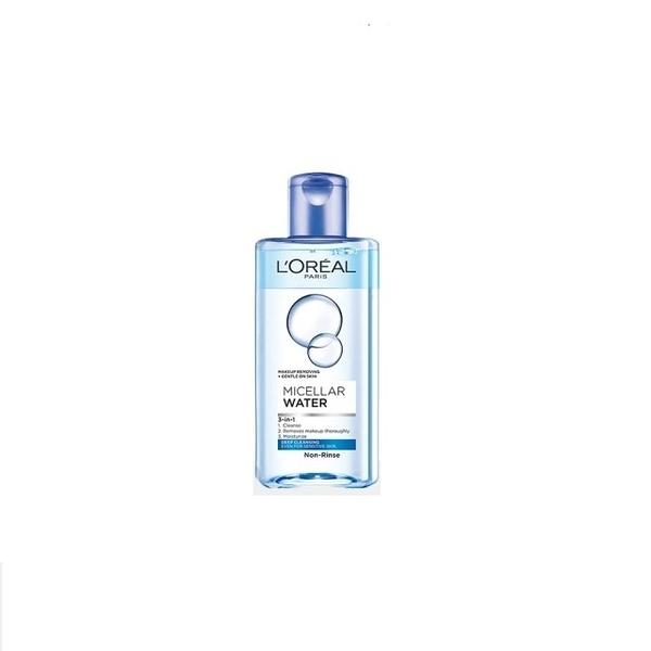 LOREAL Paris 巴黎萊雅 三合一卸妝潔顏水(深層極淨型) 95ML效期2022.12【淨妍美肌】