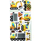 【收藏天地】創意生活*彩色裝飾壁貼-挖土機系列