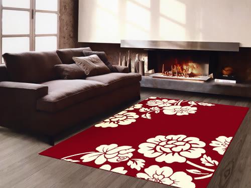 地毯 范登伯格 艾嘉麗 新元素進口地毯 花綻80x150cm