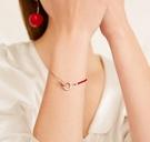 紅繩手鍊女紅色手繩