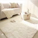 臥室地毯滿鋪床邊毯床前厚家用客廳茶幾長方形長毛絨地墊腳墊定制【快速出貨】