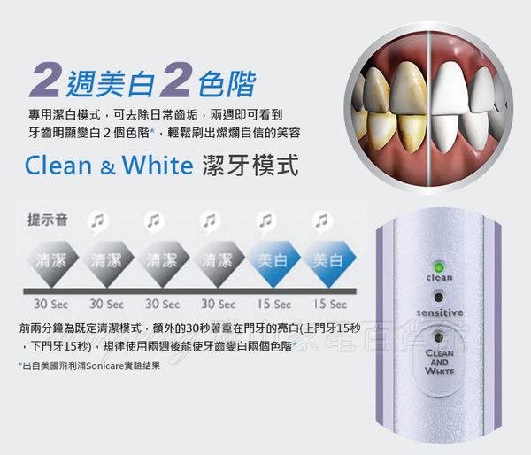 【PHILIPS飛利浦】充電式音波震動牙刷(HX6721/33)