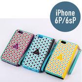 iPhone 6P / 6s Plus 積木皮套 帶手鍊 插卡 支架 側翻皮套 手機套 手機殼 保護套 殼 配件