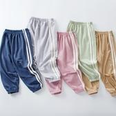 童裝兒童防蚊褲運動休閑冰絲薄款女童寶寶男大童燈籠長褲子夏外穿