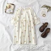 洋裝夏裝2019新款女裝韓版甜美學院風洋裝女學生百搭女氣質仙女裙 【全網最低價】