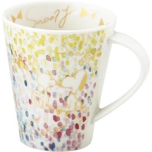asdfkitty*SNOOPY史努比水彩畫版大容量陶瓷馬克杯-500ML-日本製
