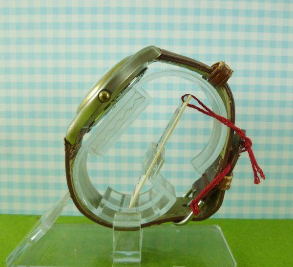 【震撼精品百貨】米奇/米妮_Micky Mouse~手錶~黃咖啡色