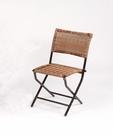 【南洋風休閒傢俱】戶外系列 -戶外折合藤鋁餐椅 庭園折疊鋁椅 HC-328