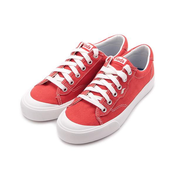 KEDS CREW KICK 經典半月帆布綁帶休閒鞋 紅 9193W122828 女鞋