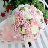 紗帶手捧 手捧花新娘結婚手捧花手腕花