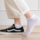 短襪 襪子女士短襪春秋純色淺口棉襪黑白色運動短款夏季薄款船襪ins潮【快速出貨八折搶購】