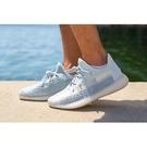 ISNEAKERS Adidas Yeezy 350 v2 Cloud White FW3043 鞋帶反光 冰藍