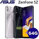 ASUS ZenFone 5Z ZS620KL ◤刷卡,送保護貼◢ 6.2吋AI智慧雙鏡頭八核手機 (6G/64G)