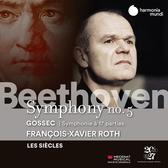 【停看聽音響唱片】【CD】貝多芬:第五號交響曲 / 葛賽克:17段交響曲 羅斯 指揮 世紀樂團