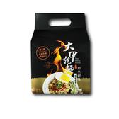 大甲乾麵 黯然銷魂勁辣麻醬(125gx4包入)【小三美日】團購/乾拌麵/刀削麵