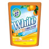 白帥帥 洗衣精補充包(天然橘油)1650g【愛買】