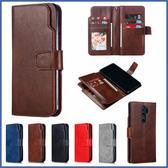 小米 紅米Note8 Pro 九插卡商務皮套 手機皮套 插卡 支架 皮套 保護套 掀蓋殼