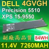 DELL 戴爾 4GVGH 日系電芯 電池 01P6KD 4GVGH T453X Precision 5510 XPS 159550 15-9550-D1828T  15 9550