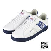 Royal Elastics Genesis 白色 皮質 套入 休閒運動鞋 男款 NO.B1499【新竹皇家 01902-058】