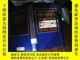 二手書博民逛書店The罕見Modern Olympics: A Struggle