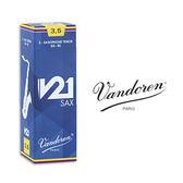 小叮噹的店- 法國 Vandoren TENOR V21 次中音薩克斯風竹片 5片裝 T-V21