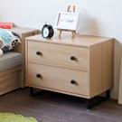 斗櫃 床頭櫃 收納【收納屋】盧米亞二抽斗櫃&DIY組合傢俱