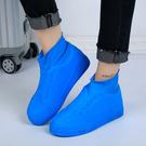 防水鞋套『藍』乳膠鞋套.防水.鞋套.雨具...