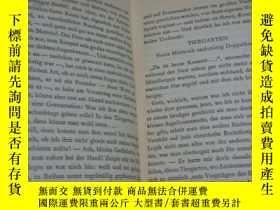 二手書博民逛書店DOR罕見DER SEPTEMBER 德文原版書布面精裝 193