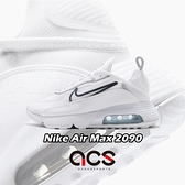 Nike 休閒鞋 Wmns Air Max 2090 白 黑 女鞋 氣墊 半透明鞋面設計 全新鞋款 運動鞋 【ACS】 CK2612-100