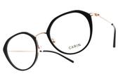 CARIN 光學眼鏡 OLSEN C1 (黑-玫瑰金) 韓星秀智代言 時尚流線貓眼款 # 金橘眼鏡