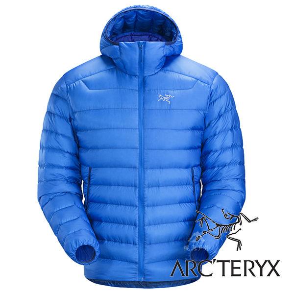 【Arc'teryx 始祖鳥】男 Cerium LT 羽絨外套 (防潑水處理.膨脹係數850.超輕)『參宿藍』L06918 保暖外套