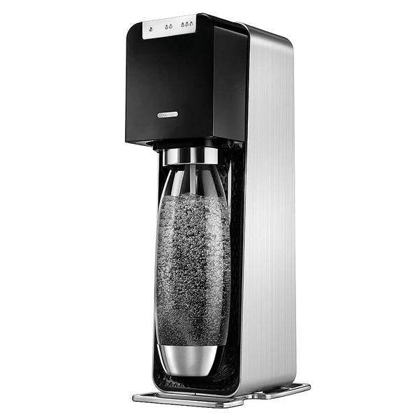 ◤限量贈嬉皮士水滴水滴寶特瓶1L三入組◢ 【Sodastream】電動式氣泡水機POWER SOURCE旗艦機(黑)