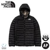 【The North Face 男 700FP 雙面羽絨保暖外套《黑/迷彩》】4NG3/保暖外套/防潑水/休閒連帽外套