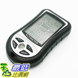[7美國直購] 掌上型多功能儀錶指南針晴雨錶 8 in 1 Digital Altimeter Hand-held Multifunction