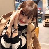 假髮片(真髮絲)-空氣瀏海無痕補髮女假髮2色73uf14【時尚巴黎】
