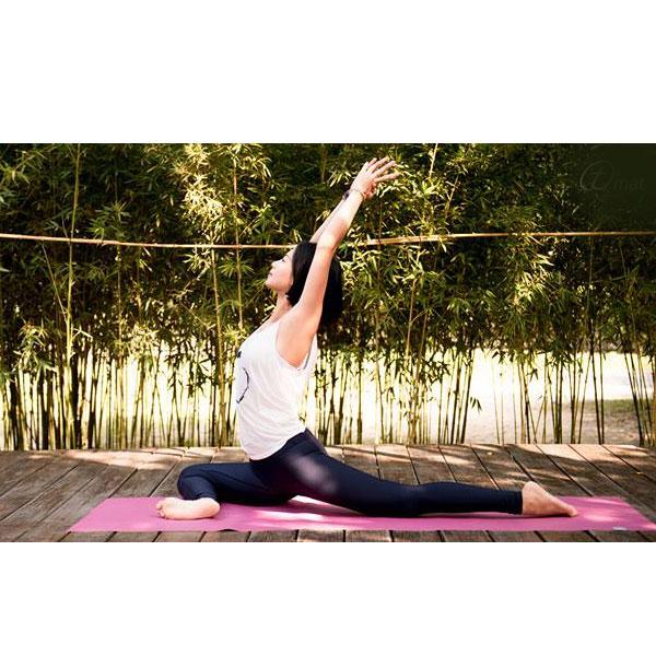 Taimat 天然橡膠瑜珈墊 183cm-觀心系列 - 蓓莉紅