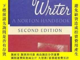 二手書博民逛書店The罕見Confident Writer: A Norton