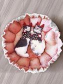 寵物窩 狗窩小型犬冬季花瓣四季通用貓窩睡袋狗狗公主可愛寵物花朵窩 【限時搶購】