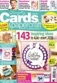 Simply Cards & papercraft 第186期+印章組,壓花模型,彩圖紙