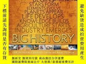 二手書博民逛書店【罕見】2016年出版 Big History:Our Incredible Journey, From Big