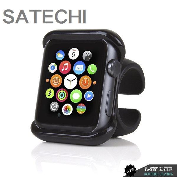日本 SATECHI Apple Watch 1/2/3 LTE 38/42mm 方向盤 單車 機車 龍頭 支架 超穩 可調角度