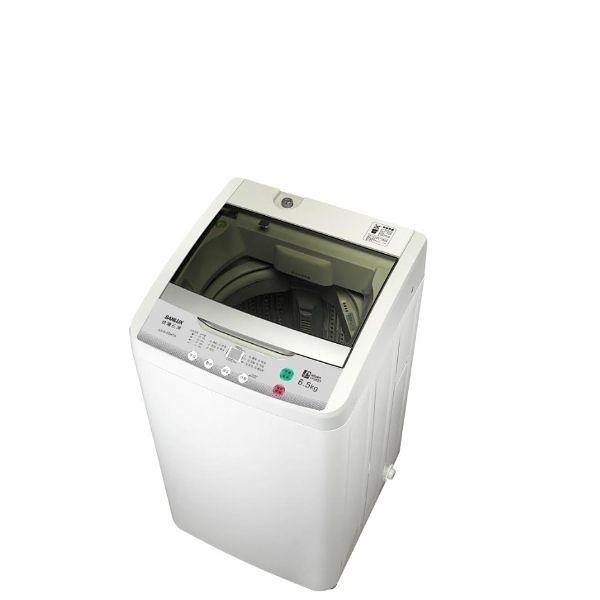 台灣三洋SANLUX超殺6.5公斤洗衣機ASW-88HTB(含運費,不含樓層費)