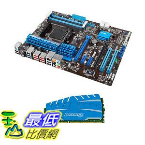 [美國直購 ShopUSA] 主機板 ASUS M5A97 R2.0 AM3+ AMD 970 Motherboard with 8GB DRAM Kit, Blue Bundle