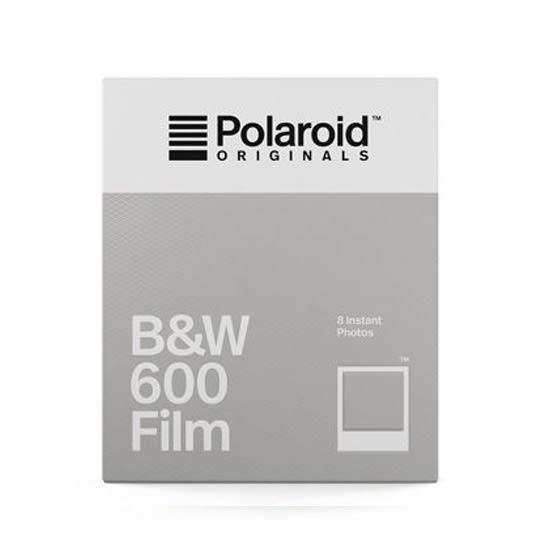 【過期品】Polaroid B&W Film for 600 黑白底片(白框4671)