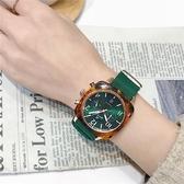 手錶女士2018時尚潮流防水韓版簡約yj周冬雨同款網紅星空女錶  極有家