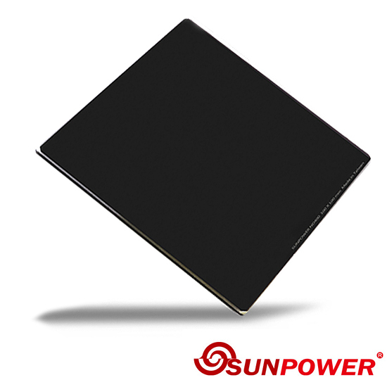 24期零利率 SUNPOWER MC PRO 100x100 ND 1.5 玻璃方型鏡片(減5格)